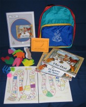 The Hat by Jan Brett Literacy Kit